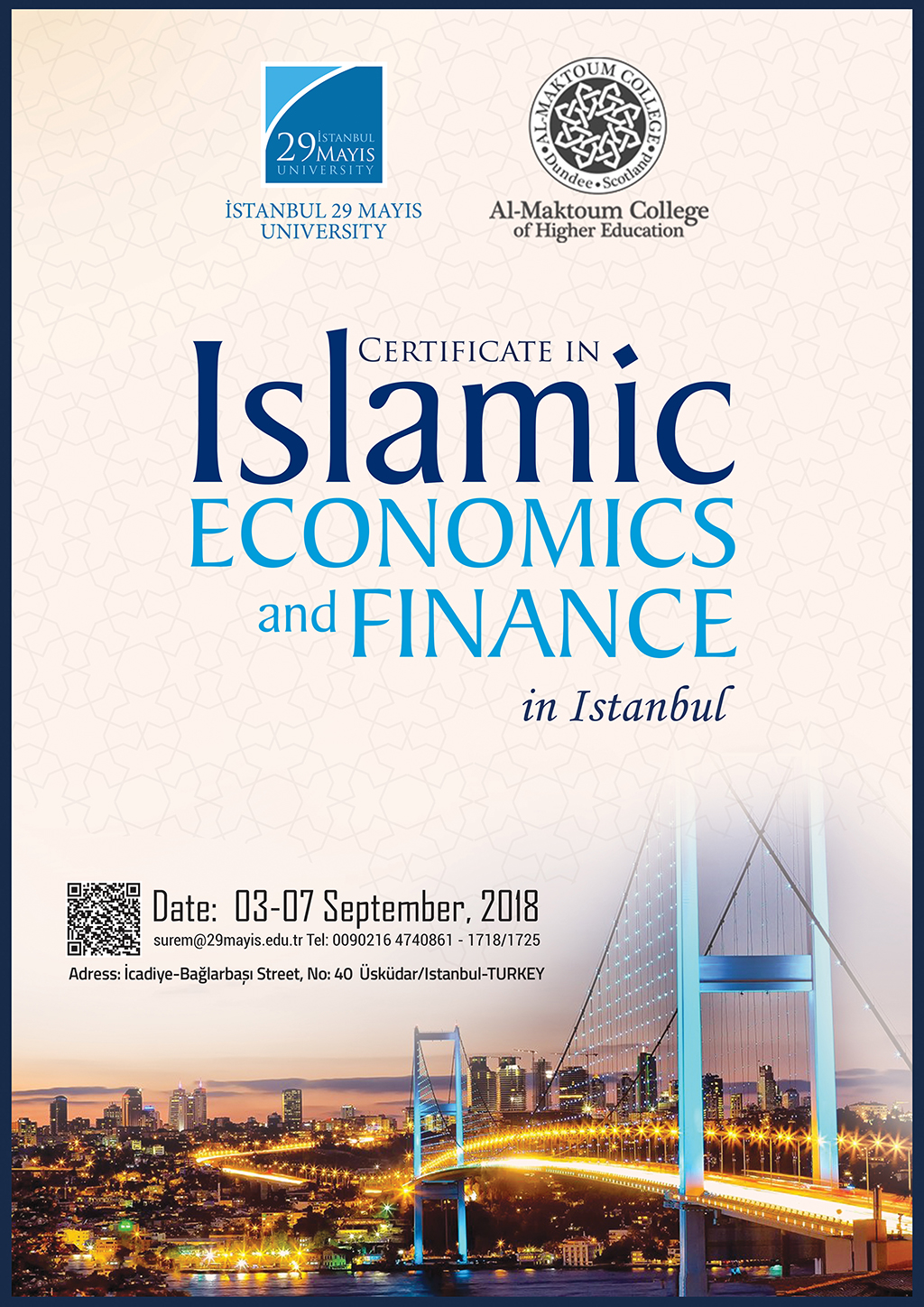 Certificate In Islamic Economics And Finance